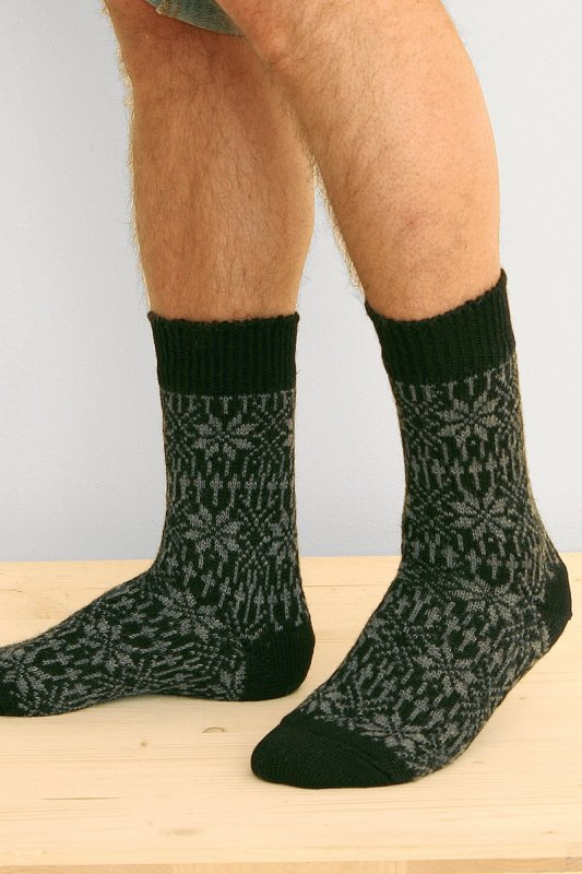 Norwegersocken Stern