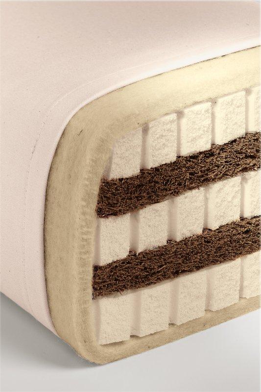 Sandwich-Matratze, mittel bis fest