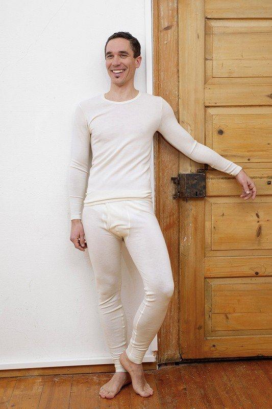 Wollhemd Langarm unisex