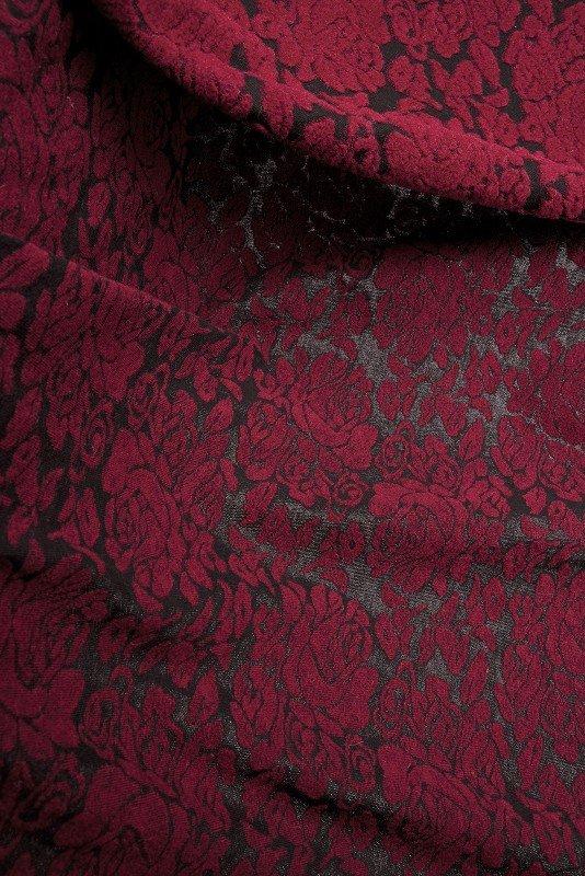 Rosengarten rot/schwarz