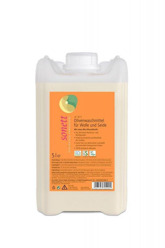 Olivenwaschmittel für Wolle und Seide mit Duft