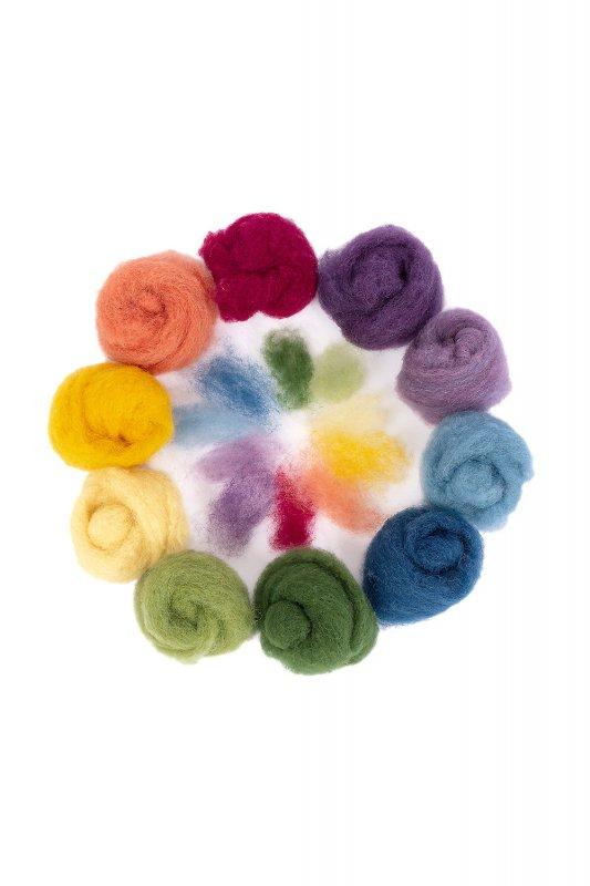 Märchenwolle 10 Farben