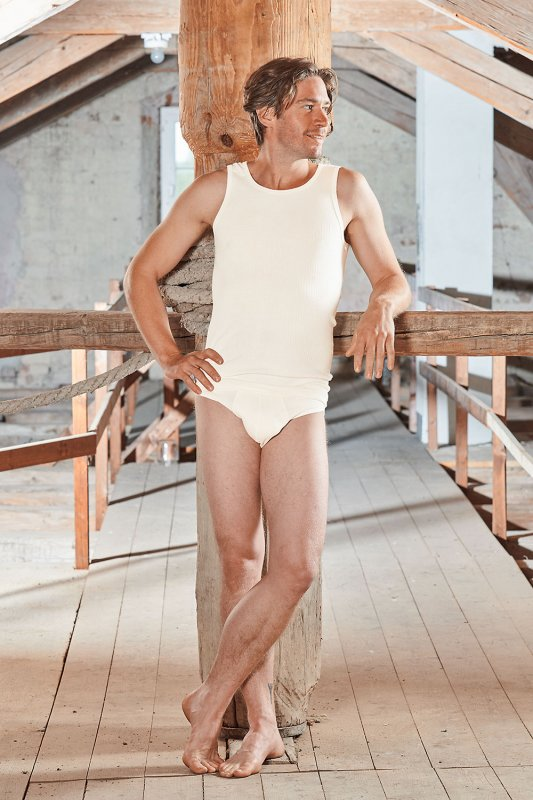 Baumwolle Pur Herren-Slip