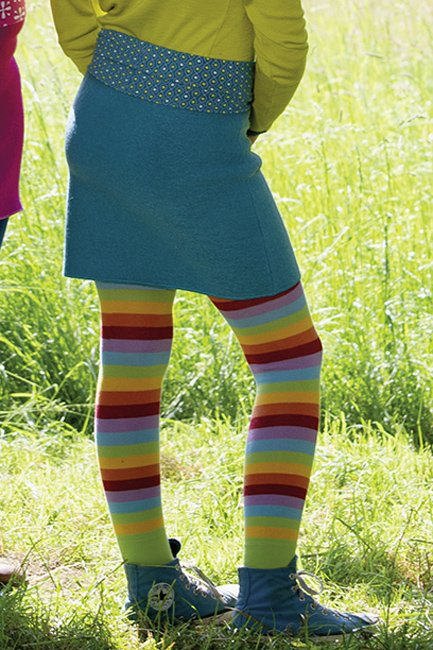 Bunte Leggings für Kinder