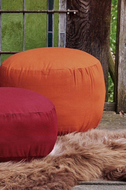 Rundes Sitzkissen groß