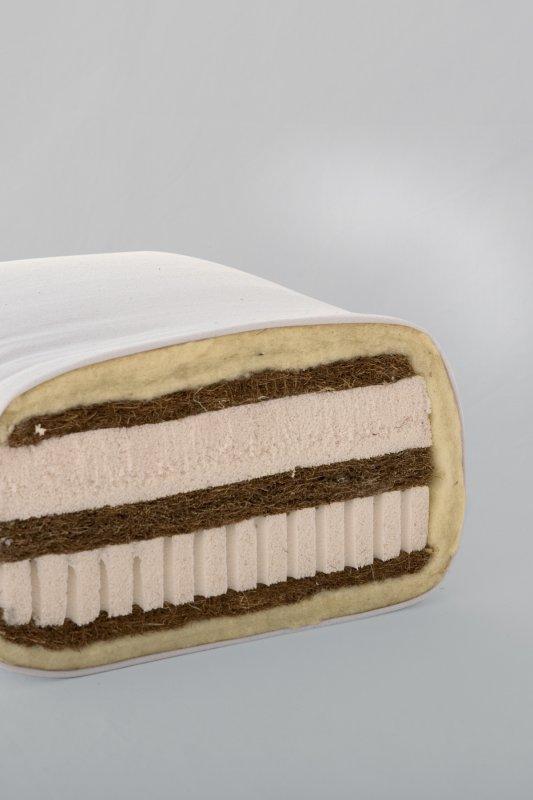 7-Schichten-Matratze Kokos, mittel bis fest