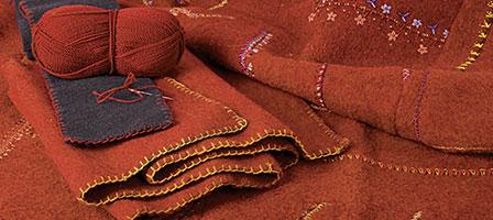 Wolldecken selbst gestalten