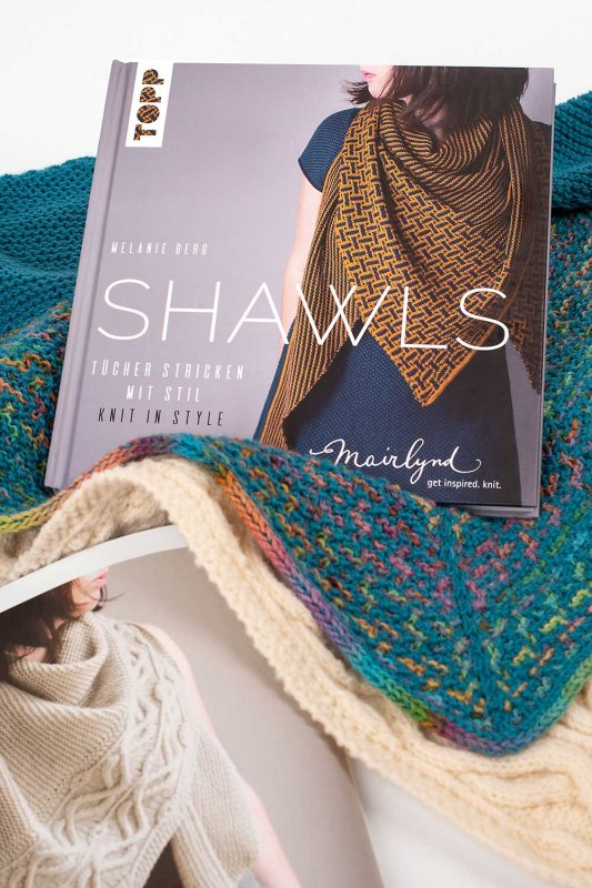 Shawls - Tücher stricken mit Stil. Knit in Style.