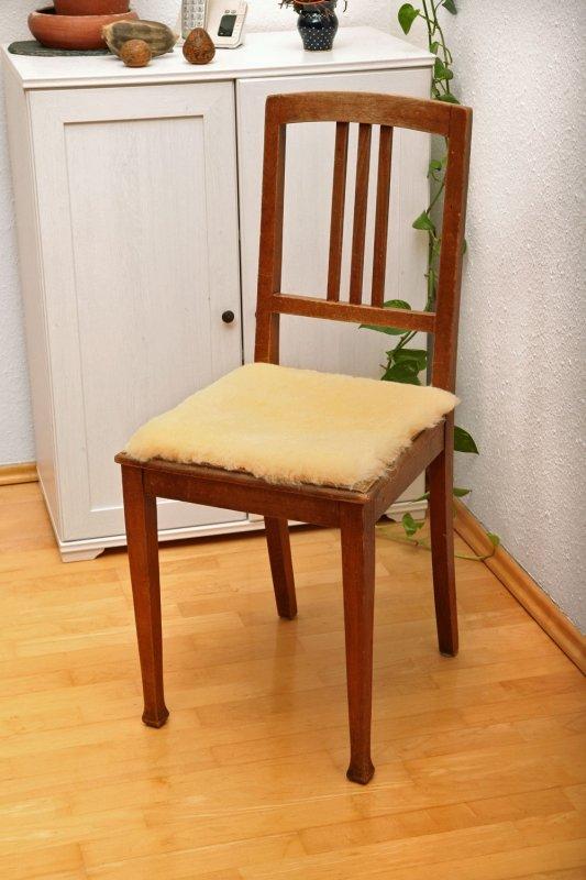 Stuhlauflage quadratisch
